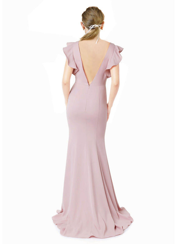 Affordable Kaiya Bridesmaid Dress in Primrose Color