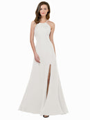 Affordable Themi Bridesmaid Dress in Ivory Color