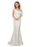 Affordable Cantrell Bridesmaid Dress in Ivory Color