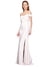 Affordable Jahnita Crepe Bridesmaid Dress Ivory