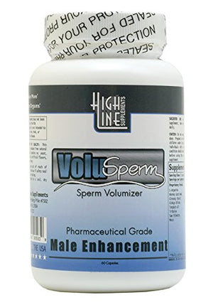 Volusperm Maximum Male Fertility Formula Semen Volumizer All Natural Pills Increase Sperm Volume up to 300%