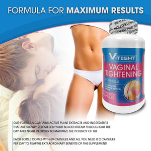 V-Tight Vagina Tightening Pills -FREE SHIPPING