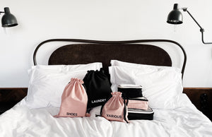 BA Traveler Organizing Bags Pink Blush 4-pack,  1حقائب تنظيم المسافر BA Traveler - 4 عبوات ، 1