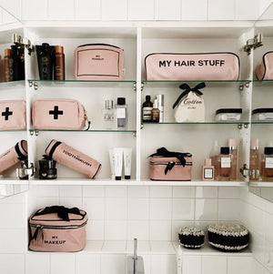 Hair Stuff Case Pink