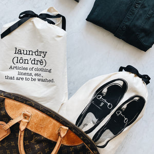 Phonetic Laundry Bag - حقيبة الغسيل