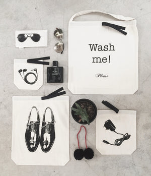 Wash me Laudry Bag, charger bag, earbuds bag, aviator