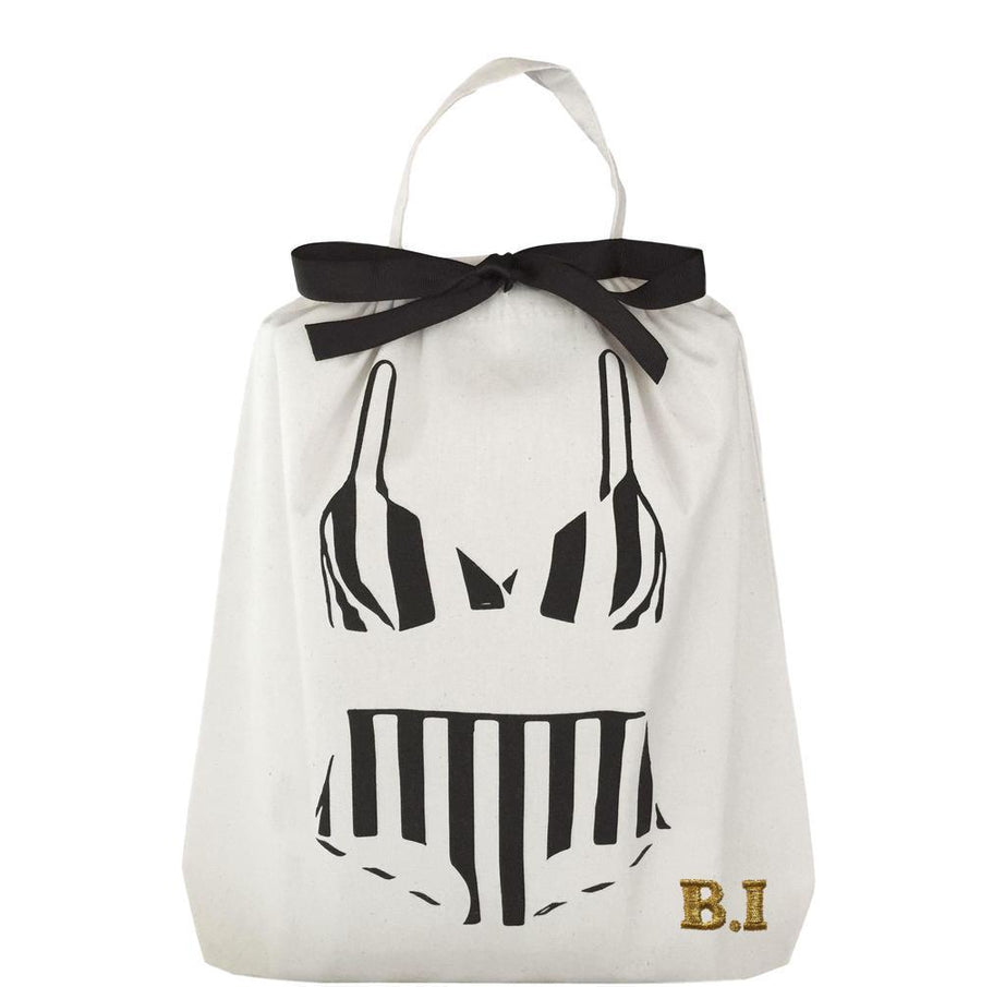 Bikini Old School - Striped Bikini Organizing Bag