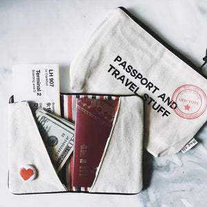 Passport Holder and Passport Case - Mood Image