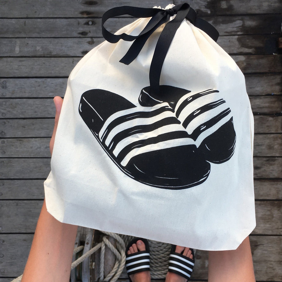 Slides Sandal Shoe Bag - حقيبة صندل سلايدرز