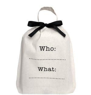 Who, What Organizing Bag