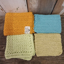 Kitchen ~ Cotton crochet dish cloth