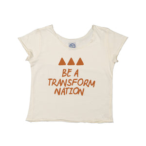 T-shirt Be a Transform Nation Cru