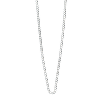 Load image into Gallery viewer, Sterling Silver Curb Chain 22 - 25""