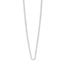 Sterling Silver Curb Chain 22 - 25""