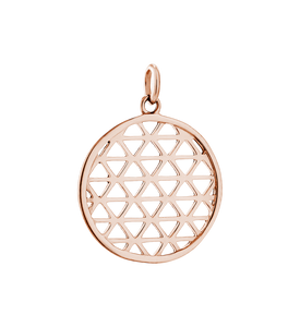 Filigree Circle Charm