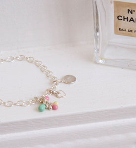 Blue Chrystal Charm