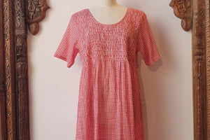 Nightie Red Gingham
