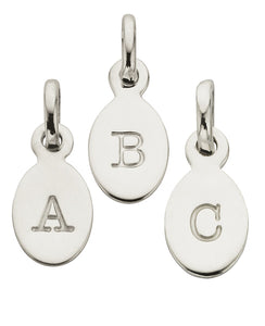 Kirstin Ash Oval Letter Charm