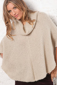 Honeycomb Poncho Alpine