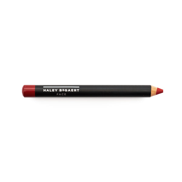 Deep Cherry Lip Crayon - Haley Bogaert Face