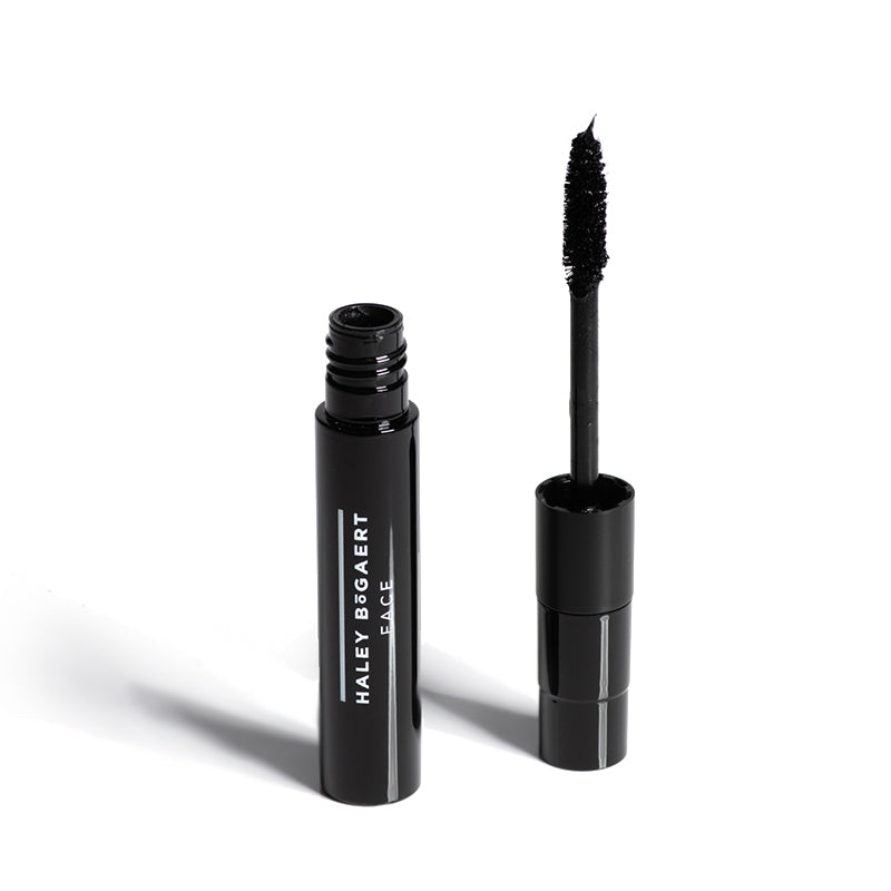 Black Lengthening Mascara - Haley Bogaert Face