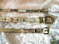 Vintage Bling Belts