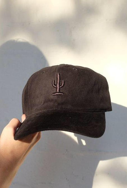 Black on Black Cactus Hat