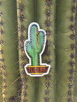Neon Sign Tucson Sticker