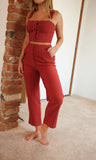 Strawberry Pants Set