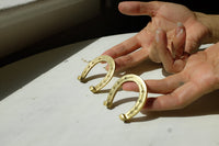 Mini Brass Horse shoes