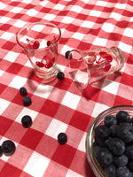 Cherry Glasses Set