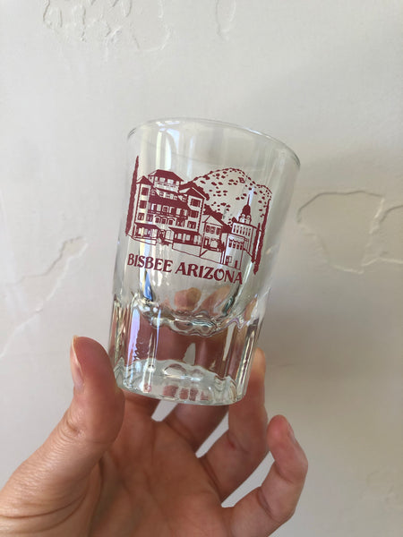 Bisbee Shot Glass