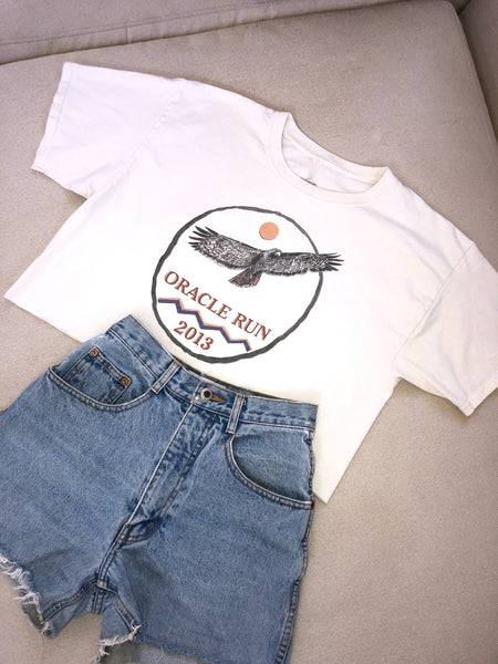 Oracle Run Crop Tee