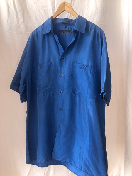 Azul Button Down