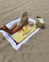 Camel beach towel