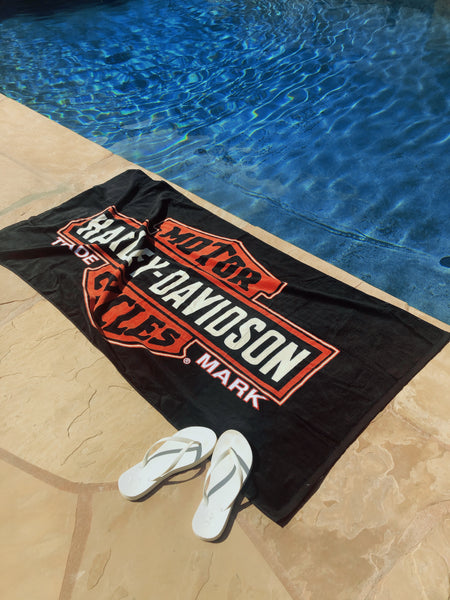 Harley Davidson Pool Towel