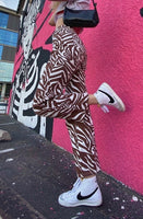 In The Wild Zebra Pants