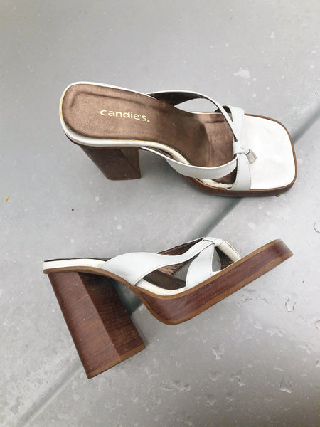 Candies Block Heels / 7.5