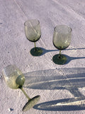 Spearmint Wine Glasses