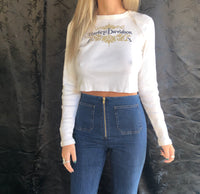 Harley Davidson Long Sleeve Crop