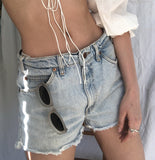 Orange Tab Shorts