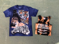 Mountain Cats Tee/ Burnout Tank Bundle