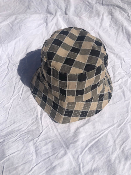 Checker Bucket Hat