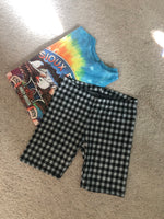 Gingham Bike Shorts