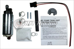 Walbro 190lph High Pressure Fuel Pump & Install Kit 91-96 Toyota MR2 84-92 Supra 85-93 Celica