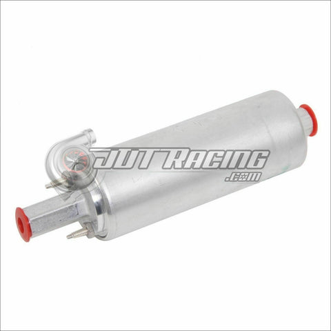 Walbro GSL392 255lph High Pressure Inline External Fuel Pump & Install Kit & 6AN/8AN Fittings