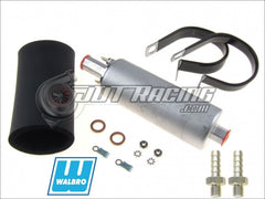 Walbro GSL394 190lph High Pressure Inline External Fuel Pump & 400-939 Install Kit