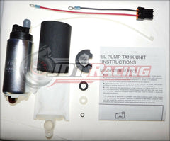 Walbro GSS350G3 350lph High Pressure Fuel Pump & Install Kit 1990-1994 Eclipse Talon Laser 1G DSM AWD Turbo
