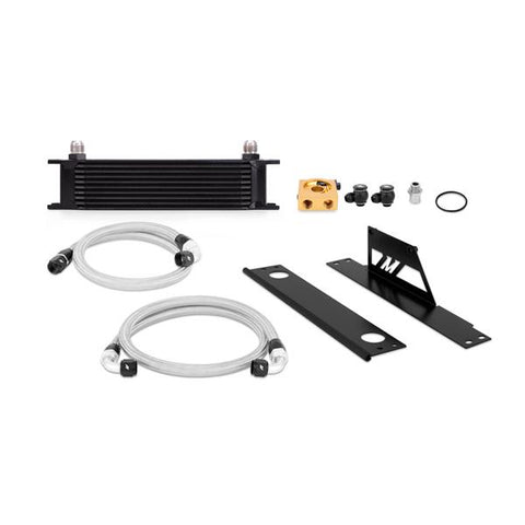 Mishimoto Subaru WRX and STI Thermostatic Oil Cooler Kit, Black