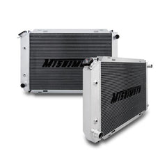 Mishimoto Ford Mustang 2-Row Performance Aluminum Radiator, 1979-1993